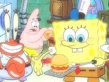 ふんわりスポンジ・ボブの画像(#ハンバーガーに関連した画像)