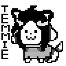 Hoi!! I'm Temmie!!! プリ画像