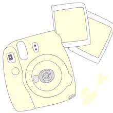 チェキのペア画です💓の画像(友達 ペア画に関連した画像)