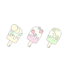アイスキャンディー プリ画像