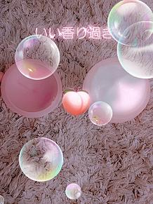 桃アイス プリ画像