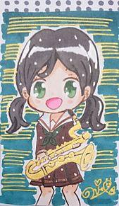 『響け!ユーフォニアム』小笠原晴香【名刺カード】の画像(ユーフォに関連した画像)
