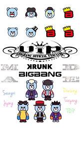 iPhone6ホーム画面BIGBANG