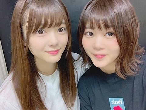 保乃ちゃん&尾関の画像(プリ画像)