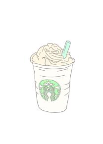 @🐥スタバイラストの画像(イラスト 飲み物 可愛いに関連した画像)