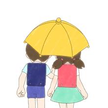 ♡°.相合傘.°♡の画像(プリ画像)