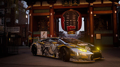 ハシビロコウ 痛車 ウラカン GT3'15の画像(プリ画像)