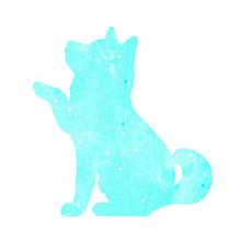 犬の画像(シルエットに関連した画像)