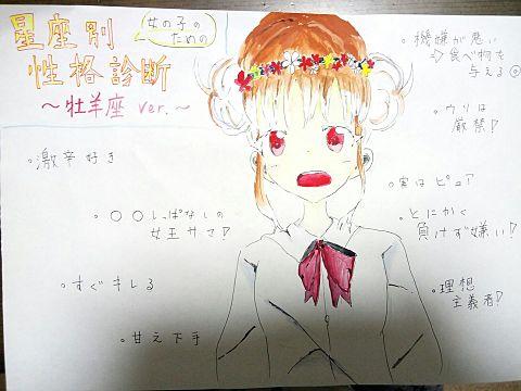 描いてみた   〜星座占い〜の画像(プリ画像)