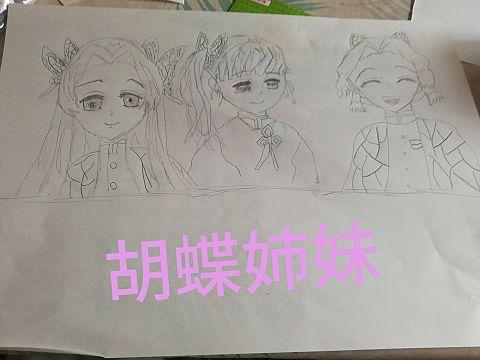 胡蝶姉妹の画像(プリ画像)
