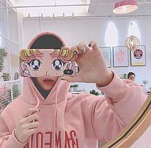 🇰🇷💖の画像(ピンク 背景に関連した画像)