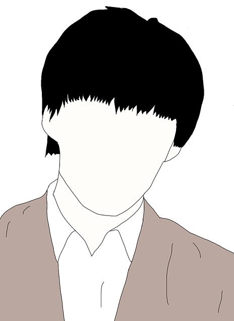 リクエスト 千賀健永くん 線画の画像(プリ画像)