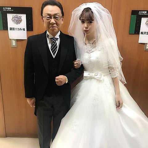梅沢富美男 藤田ニコルの画像 プリ画像