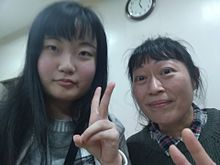 私と私の友達と久しぶりに会った時の写メと学校の帰り、南海本線乗るの画像(サザエさんに関連した画像)