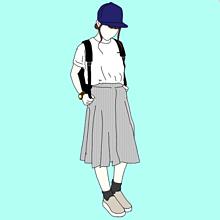 ファッション/もらう時ポチ/相互フォローの画像(ガウチョに関連した画像)