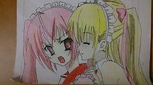 『緋弾のアリア  アリア&理子』描いてみたの画像(緋弾のアリアに関連した画像)