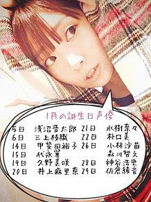 1月の誕生日声優の画像(甲斐田裕子に関連した画像)