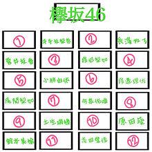 欅坂46席替え! プリ画像