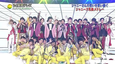 24時間テレビARASHI美少年ハイハイじえ少年忍者の画像(プリ画像)