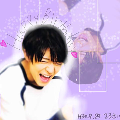 岸くん.*・♥゚Happy Birthday ♬ °・♥*.の画像(プリ画像)