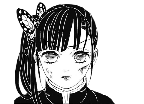 栗花落カナヲ 背景透過の画像(プリ画像)