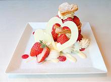 苺のバレンタインミルフィーユ 銀座千疋屋の画像(#ミルフィーユに関連した画像)