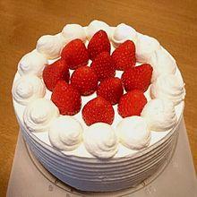 デコレーションケーキ 写真右下のハートを押してねの画像(デコレーションケーキに関連した画像)