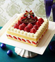 三越クリスマスケーキ  写真右下のハートを押してねの画像(クリスマスに関連した画像)
