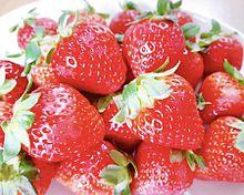 イチゴ  苺  ストロベリー  写真右下のハートを押してねの画像(イチゴに関連した画像)