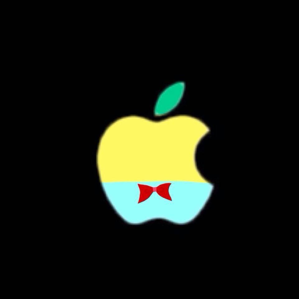 ふなっしーとアップル