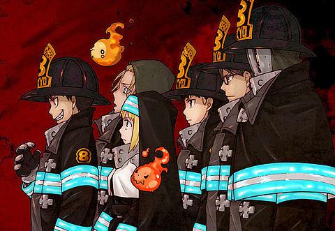 炎炎ノ消防隊の画像(プリ画像)