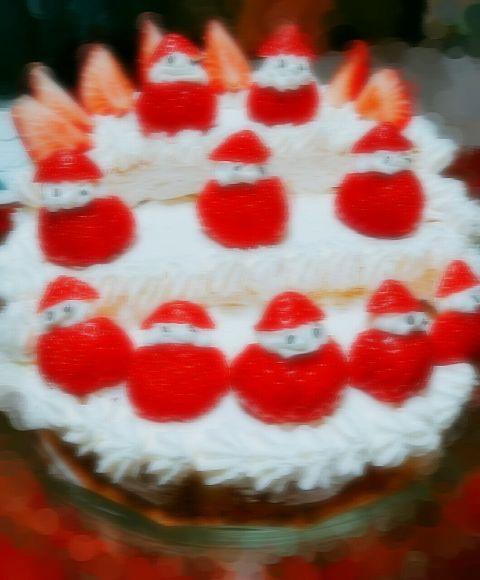 ひな祭りのケーキ♡の画像(プリ画像)