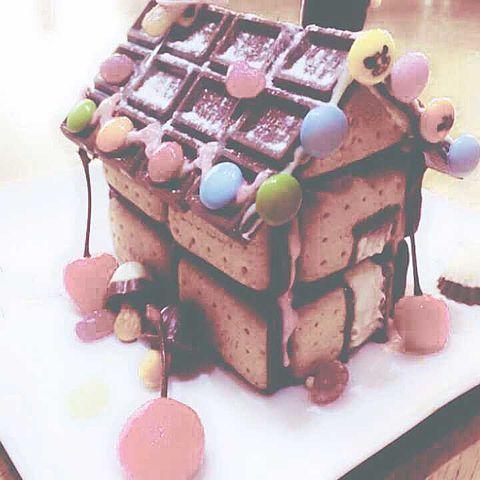 お菓子の家の画像 プリ画像