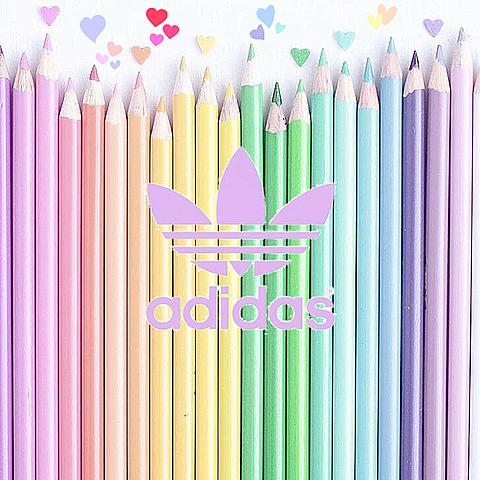 色鉛筆のアディダスの画像(プリ画像)