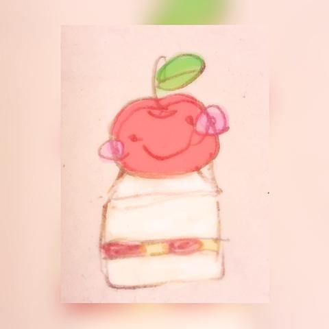 りんごけーきの画像(プリ画像)