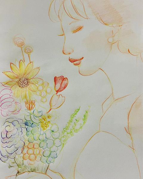 花束をあなたにの画像(プリ画像)