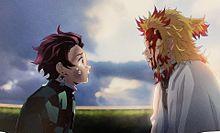 炭治郎と煉獄さん♡の画像(#竈門炭治郎に関連した画像)