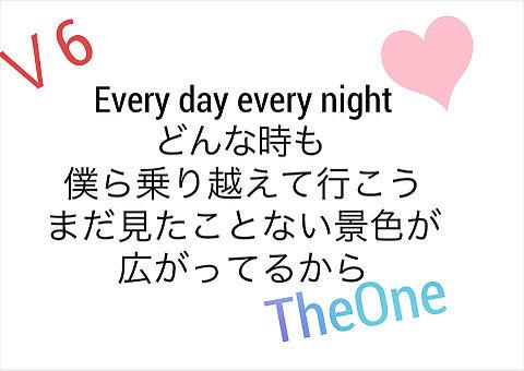 V6/TheOneの画像(プリ画像)