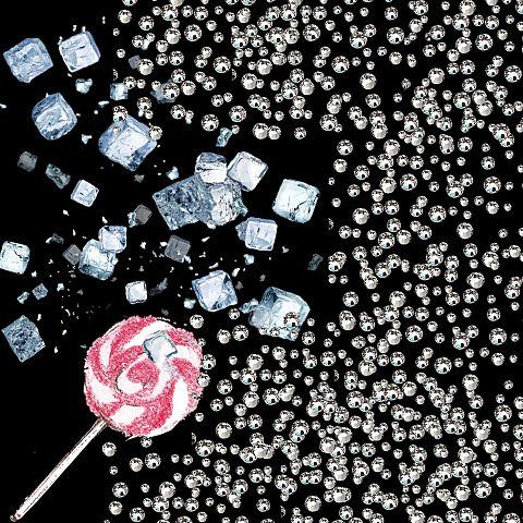 宝石とキャンディの画像(プリ画像)
