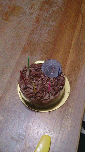 友達と食べたのと、myの誕生日ケーキの画像(プリ画像)