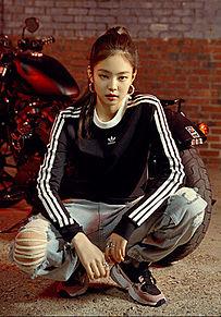 """BLACKPINK """"adidas""""の画像(BIKEに関連した画像)"""