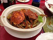 上海で上海蟹の画像(蟹に関連した画像)