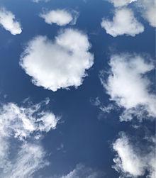 ハートの雲の画像(空に関連した画像)