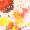 Photograph of the cute fruit プリ画像