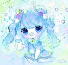 ♥ばぶちゃん♥色違い プリ画像
