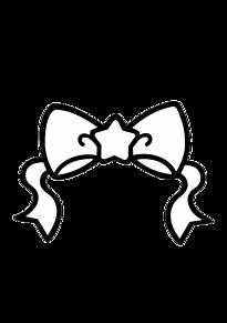 キンブレ 素材 リボン プリ画像