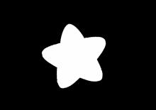 キンブレ素材 星 うちわ素材 プリ画像