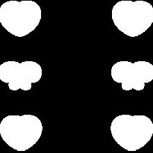 ハート リボン フレーム  かわいい の画像(ハート 背景に関連した画像)