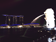 シンガポール マーライオンの画像(サンズに関連した画像)