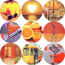 JUMPカラーの画像(オレンジ素材に関連した画像)
